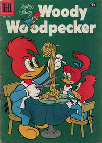 Cover Thumbnail for Walter Lantz Woody Woodpecker (Dell, 1952 series) #46 [15¢]