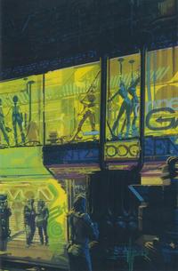 Cover Thumbnail for Blade Runner 2019 (Titan, 2019 series) #4 [Syd Mead Virgin Art]
