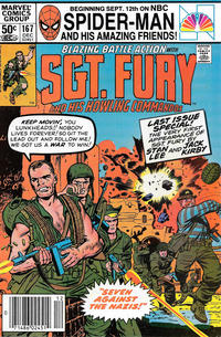 Cover Thumbnail for Sgt. Fury and His Howling Commandos (Marvel, 1974 series) #167 [Newsstand]