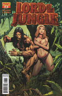 Cover Thumbnail for Lord of the Jungle (Dynamite Entertainment, 2012 series) #6 [Johnny Desjardins Risque Incentive Cover]