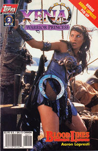 Cover Thumbnail for Xena: Warrior Princess: Bloodlines (Topps, 1998 series) #2 [Photo Cover]