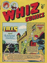 Cover Thumbnail for Whiz Comics (L. Miller & Son, 1950 series) #99