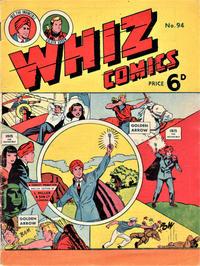 Cover Thumbnail for Whiz Comics (L. Miller & Son, 1950 series) #94