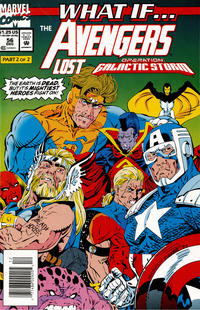 Cover Thumbnail for What If...? (Marvel, 1989 series) #56 [Newsstand]
