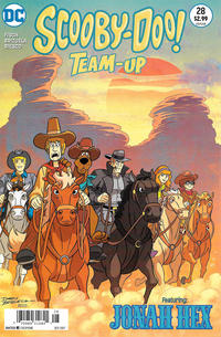 Cover Thumbnail for Scooby-Doo Team-Up (DC, 2014 series) #28 [Newsstand]
