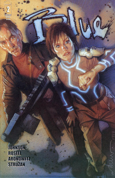 Cover for Blue (Image, 1999 series) #2