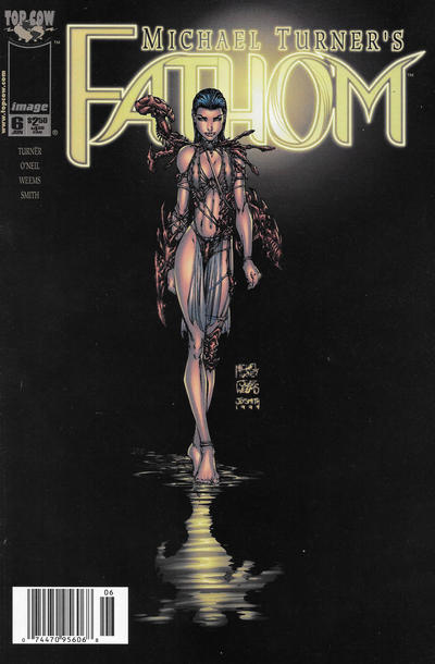 Cover for Fathom (Image, 1998 series) #6 [Newsstand]