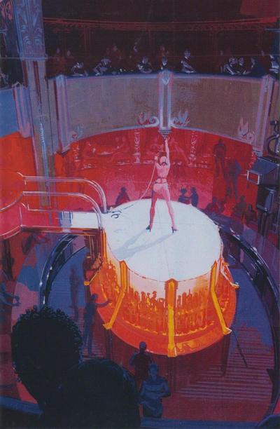 Cover for Blade Runner 2019 (Titan, 2019 series) #2 [Syd Mead Virgin Art]