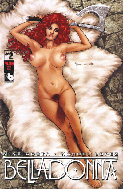 Cover for Belladonna (Avatar Press, 2016 series) #2 [Sultry Nude - Christian Zanier]