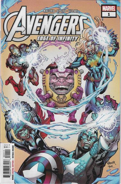 Cover for Avengers: Edge of Infinity (Marvel, 2019 series) #1