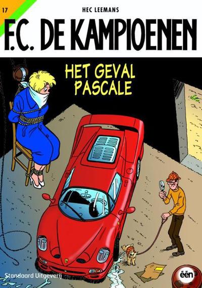 Cover for F.C. De Kampioenen (Standaard Uitgeverij, 1997 series) #17 - Het geval Pascale [Herdruk 2005]