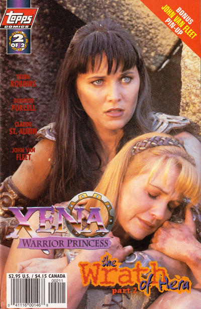 Cover for Xena: Warrior Princess: The Wrath of Hera (Topps, 1998 series) #2 [Art Cover]