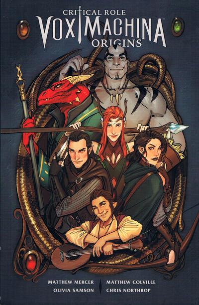 Cover for Critical Role: Vox Machina Origins (Dark Horse, 2019 series) #1