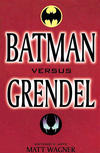 Cover for Batman versus Grendel (Mythos Editora, 1997 series)