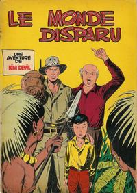 Cover Thumbnail for Kim Devil (Dupuis, 1955 series) #3 - Le Monde disparu