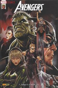 Cover Thumbnail for Marvel Legacy : Avengers (Panini France, 2018 series) #7 - Jusqu'à la mort (V)