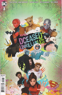 Cover Thumbnail for DCeased: Unkillables (DC, 2020 series) #3 [Tasia M. S. Movie Homage Variant Cover]