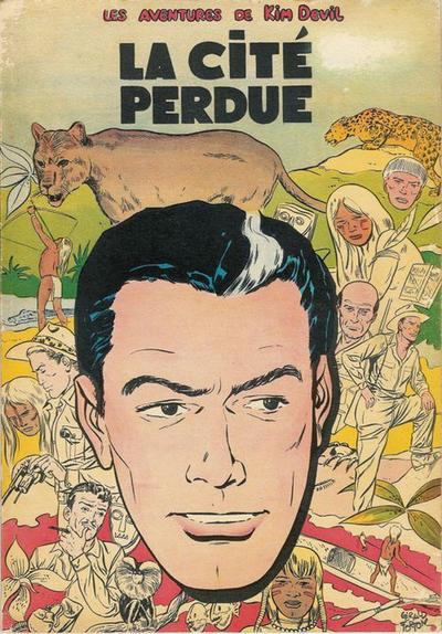 Cover for Kim Devil (Dupuis, 1955 series) #1 - La Cité perdue