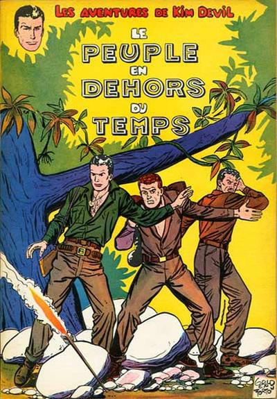 Cover for Kim Devil (Dupuis, 1955 series) #2 - Le Peuple en dehors du temps