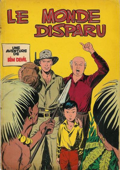 Cover for Kim Devil (Dupuis, 1955 series) #3 - Le Monde disparu