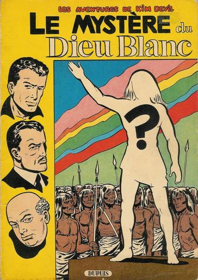 Cover for Kim Devil (Dupuis, 1955 series) #4 - Le Mystère du Dieu Blanc