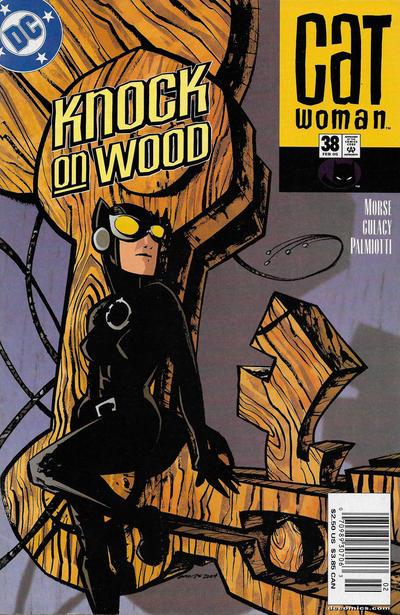 Cover for Catwoman (DC, 2002 series) #38 [Direct Sales]