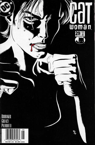 Cover for Catwoman (DC, 2002 series) #29 [Newsstand]