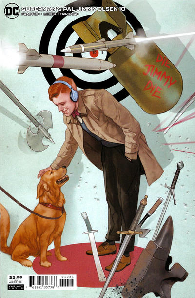 Cover for Superman's Pal Jimmy Olsen (DC, 2019 series) #10