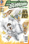 Cover Thumbnail for Green Lantern: New Guardians (2011 series) #25 [Newsstand]