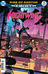 Cover for Nightwing (DC, 2016 series) #8 [Newsstand]