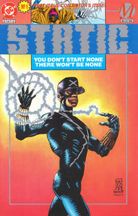 Cover Thumbnail for Static (DC, 1993 series) #1 [Platinum]