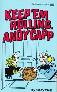 Cover Thumbnail for Keep 'Em Rolling, Andy Capp (Gold Medal Books, 1976 series) #12748