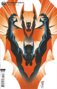 Cover Thumbnail for Batman Beyond (DC, 2016 series) #41 [Francis Manapul Cover]