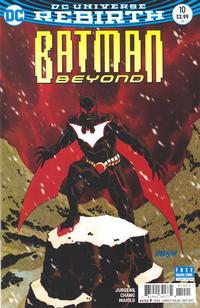 Cover Thumbnail for Batman Beyond (DC, 2016 series) #10 [Dave Johnson Cover]