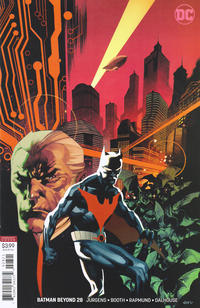 Cover Thumbnail for Batman Beyond (DC, 2016 series) #28 [Chris Stevens Cover]