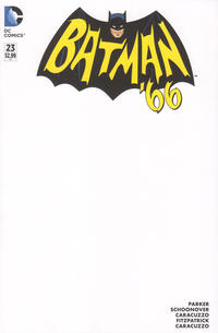 Cover Thumbnail for Batman '66 (DC, 2013 series) #23 [Blank Cover]