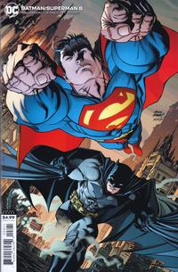 Cover Thumbnail for Batman / Superman (DC, 2019 series) #8 [Andy Kubert Cardstock Variant Cover]