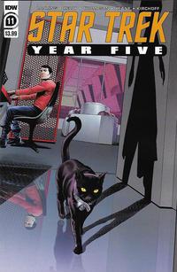 Cover Thumbnail for Star Trek: Year Five (IDW, 2019 series) #11 [Regular Cover]