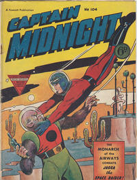 Cover Thumbnail for Captain Midnight (L. Miller & Son, 1950 series) #104
