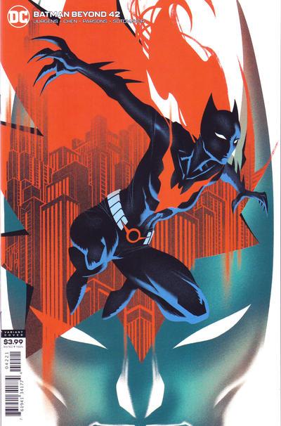 Cover for Batman Beyond (DC, 2016 series) #42