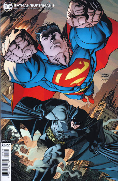 Cover for Batman / Superman (DC, 2019 series) #8 [Andy Kubert Cardstock Variant Cover]