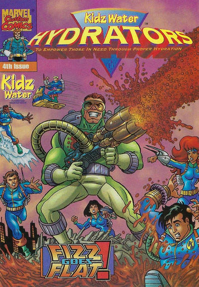 Cover for Kidz Water Hydrators (Marvel, 1999 series) #4