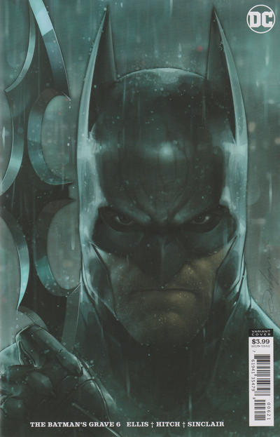Cover for The Batman's Grave (DC, 2019 series) #6 [Bryan Hitch & Alex Sinclair Cover]