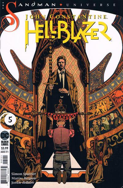 Cover for John Constantine Hellblazer (DC, 2020 series) #5