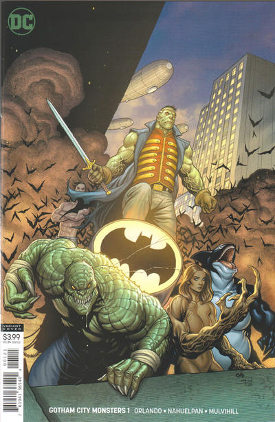 Cover for Gotham City Monsters (DC, 2019 series) #1 [Frank Cho Variant Cover]