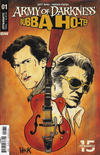 Cover for Army of Darkness/Bubba Ho-Tep (Dynamite Entertainment, 2019 series) #1 [Cover C Robert Hack]