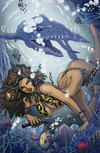 Cover for Cavewoman: Riptide (Basement, 2019 series)  [Cover F - Special Edition Mario Gully]