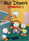 Cover for Walt Disney's Comics and Stories (Dell, 1940 series) #v13#1 (145) [Subscription Variant]