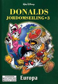Cover Thumbnail for Donalds jordomseiling (Hjemmet / Egmont, 2020 series) #3 - Europa