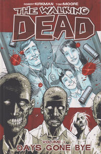 Cover Thumbnail for The Walking Dead (Image, 2004 series) #1 - Days Gone Bye [Ninth printing]